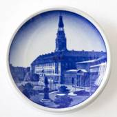 Royal Copenhagen Plaquette no. 70, Christiansborg Castle