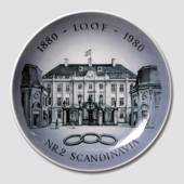 Royal Copenhagen Memorial plate Odd Fellow Scandinavia no. 2