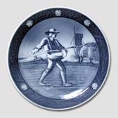 Royal Copenhagen Memorial plate, The Bicentenary of The Peasants Liberation...