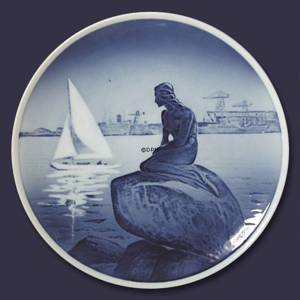 Royal Copenhagen Plate with The Little Mermaid no. 4679 | No. RNR767 | Alt. rnr4679 | DPH Trading