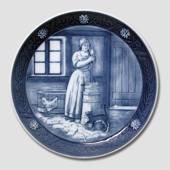 1987 Royal Copenhagen Memorial plate, Bicentenary of the Peasants Liberatio...