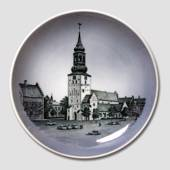 Royal Copenhagen Church plate, Cathedral of Aalborg