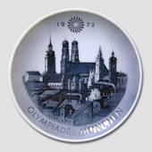 1972 Royal Copenhagen Olympic plate, Munich