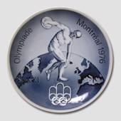 1976 Royal Copenhagen Olympic plate, Montreal