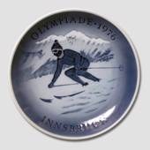 1976 Royal Copenhagen Olympic plate, winter Olympics Innsbruch
