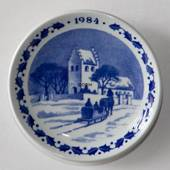 1984 Christmas plaquette, Royal Copenhagen