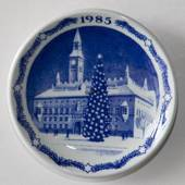 1985 Christmas plaquette, Royal Copenhagen