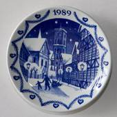 1989 Christmas plaquette, Royal Copenhagen