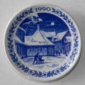 1990 Christmas plaquette, Royal Copenhagen