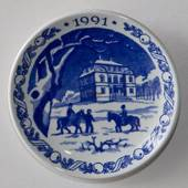 1991 Christmas plaquette, Royal Copenhagen