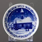 1995 Christmas plaquette, Royal Copenhagen