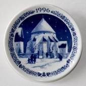 1996 Christmas plaquette Osterlars Round Church, Royal Copenhagen