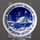 1997 Christmas plaquette, Royal Copenhagen