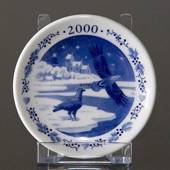 2000 Christmas plaquette, Royal Copenhagen