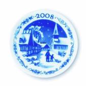 2008 Christmas plaquette, Reersoe - Home of the tailless cats, Royal Copenh...