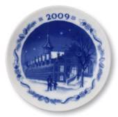 2009 Christmas plaquette, Stock Exchange, Royal Copenhagen