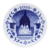 2010 Christmas plaquette, The Amalie Garden, Royal Copenhagen
