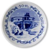 2011 Christmas plaquette, Royal Copenhagen