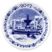 2012 Christmas plaquette, Royal Copenhagen