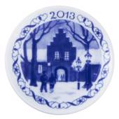 2013 Christmas plaquette, Royal Copenhagen
