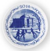2014 Christmas plaquette, Royal Copenhagen