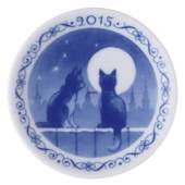 2015 Christmas plaquette, Royal Copenhagen