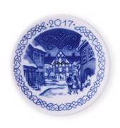 2017 Christmas plaquette, Royal Copenhagen