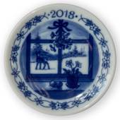 2018 Christmas plaquette, Christmas Window, Royal Copenhagen
