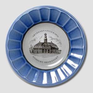 1972 The Navys Christmas plate, Royal Copenhagen | Year 1972 | No. RSS1972 | DPH Trading