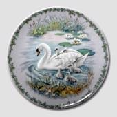 Nature's Children Plate, The Swan, Royal Copenhagen