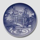 2002 Royal Copenhagen Young Adventurers plate