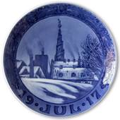 The Church of Our Saviour 1917, Royal Copenhagen Christmas plate