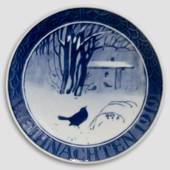 1919 Christmas plate with German text