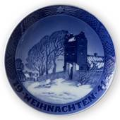 1941 Christmas plate with German text