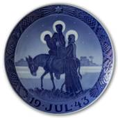 The Flight to Egypt 1943, Royal Copenhagen Christmas plate