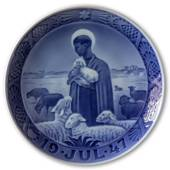 The good shepherd 1947, Royal Copenhagen Christmas plate