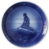The Little Mermaid 1962, Royal Copenhagen Christmas plate