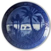 In the desert 1972, Royal Copenhagen Christmas plate