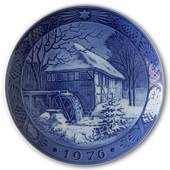 Vibaek Mill 1976, Royal Copenhagen Christmas plate