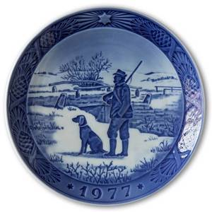 Immervad Bridge 1977, Royal Copenhagen Christmas plate