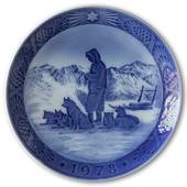 Greenlandic Scenery 1978, Royal Copenhagen Christmas plate