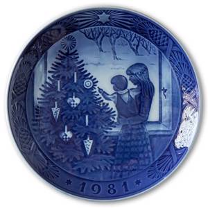 Admiring the Christmas