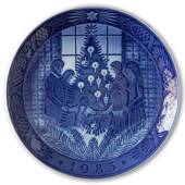 Merry Christmas 1983, Royal Copenhagen Christmas plate