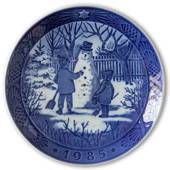 The Snowman 1985, Royal Copenhagen Christmas plate
