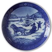 Christmas Vacation 1986, Royal Copenhagen Christmas plate