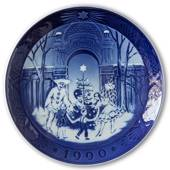 Christmas in Tivoli 1990, Royal Copenhagen Christmas plate