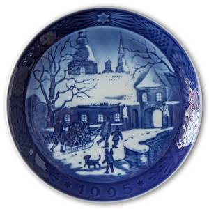 Christmas at the Manor House 1995, Royal Copenhagen Christmas plate