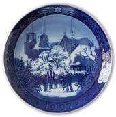 Roskilde Cathedral 1997, Royal Copenhagen Christmas plate