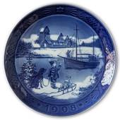 Welcome Home 1998, Royal Copenhagen Christmas plate