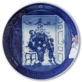 Decorating the Christmas Tree 2000, Royal Copenhagen Christmas plate